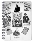Presidential Campaigns Spiral Notebook