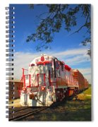 Prettiest Train Ever Spiral Notebook