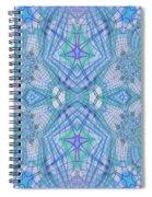 Pretty Blue Spiral Notebook