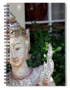 Pretty Garden Spiral Notebook