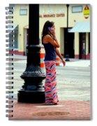 Pretty Woman Spiral Notebook