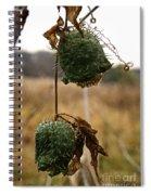 Prickly Bells Spiral Notebook