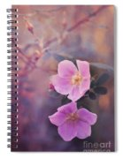 Prickly Rose Spiral Notebook