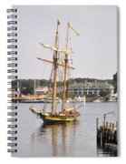 Pride Of Baltimore II Pb2p Spiral Notebook