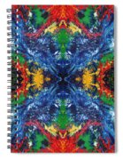 Primary Abstract I Design Spiral Notebook