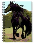 Prince Of Equus Spiral Notebook