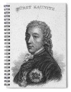 Prince Of Kaunitz-rietberg Spiral Notebook