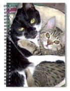 Princess And Little Rocky Spiral Notebook