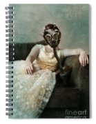 Princess In Gas Mask 2 Spiral Notebook