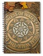 Princess Of Wales Spiral Notebook