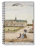 Princeton College, 1764 Spiral Notebook