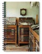 Print Shop Spiral Notebook