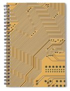 Printed Circuit Spiral Notebook