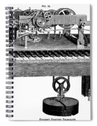 Printing Telegraph, 1873 Spiral Notebook