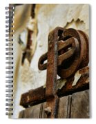 Prison Door Spiral Notebook