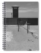 Prison Yard Spiral Notebook