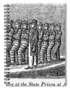 Prisoners, 1842 Spiral Notebook
