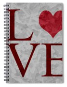 Pristine Love Spiral Notebook