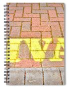 Private Sign Spiral Notebook