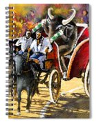 Proba Bull Cause Spiral Notebook