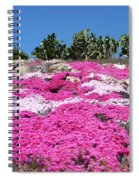 Profusion Of Pink Spiral Notebook