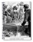 Prostitution, 1892 Spiral Notebook