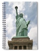 Proudly She Stands Spiral Notebook