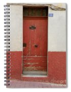Provence Door 13 Spiral Notebook