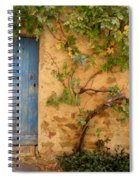 Provence Door 5 Spiral Notebook