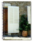 Provence Door Number 4 Spiral Notebook