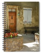 Provence House 2 Spiral Notebook