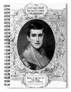 Prudence Crandall, American Educator Spiral Notebook
