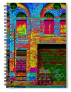 Psychadelic Architecture Spiral Notebook