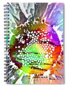 Psychedelic Daisy 2 Spiral Notebook