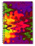 Psychedelic Guitar Spiral Notebook