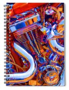 Psychodelic Chopper-1 Spiral Notebook