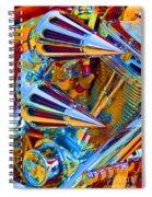 Psychodelic Chopper-2 Spiral Notebook