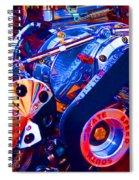 Psychodelic Supercharger-1 Spiral Notebook
