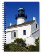 Pt. Loma Lighthouse Spiral Notebook