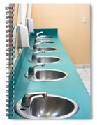 Public Restroom Spiral Notebook