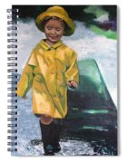 Puddles Spiral Notebook