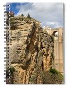 Puente Nuevo In Ronda Spiral Notebook