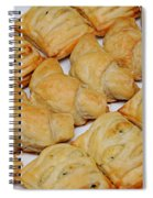 Puff Pastry Party Tray Spiral Notebook