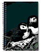 Puffin Love Spiral Notebook