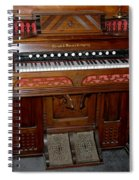 Pump Organ Spiral Notebook