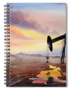 Pumping For Gold Spiral Notebook