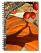 Pumpkin Berries Spiral Notebook