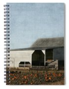 Pumpkin Farm Spiral Notebook