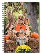 Pumpkin Harvest 2012 Spiral Notebook