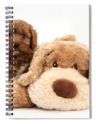 Puppy Spiral Notebook